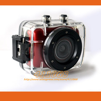 Hot F5 Sports camera HD 720P Waterproof Camera + 2.0 inch Touch LCD Mini Camcorder free shipping