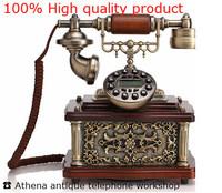 Corded Antiquity Telephone Home / Vintage Old Telefones Novel Household Phone