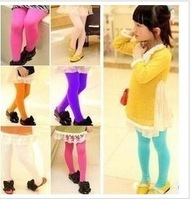 Retail 11 colors children's pantyhose girls leggings tights kids legging,pant for girl children socks velvet