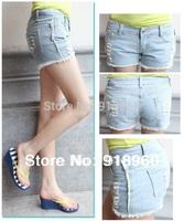 New sale XXXL Women's Shorts Denim Jeans/Fashion Sexy Ladies' Short pants/Tassel shorts waist 68~80 cm XS~XXXL good quality/WtQ