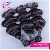 Ali POP Peruvian virgin hair body wave 3pcs/ot Peruvian body wave Peruvian hair bundles 6A  human hair extensions Free shipping