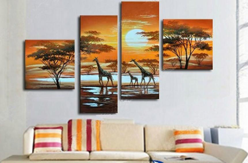 Картина handpainted 4 Home Decoration картина global art 100% handpainted 5 home decoration