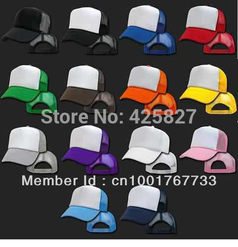 New Classic Trucker Baseball Golf Mesh Cap Hat -17 Colors(China (Mainland))