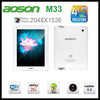 "Aoson M33 Android 4.1 Tablet PC 9.7"" Retina Capacitive Touch Screen 2048*1536 QuadCore RK3188 2GB RAM 16GB"