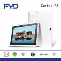 B13A 7 inch Q89 2200 mah android 4.0 Allwinner A13 dual camera 512MB/4GB tablet pc