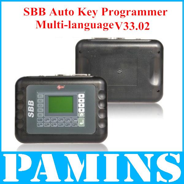 DHL Silca Sbb Key Programmer V33 2 2014 Pro Car Auto Key Maker Newest Version V33.02 Tool For Honda Toyota Nissan Programming(China (Mainland))
