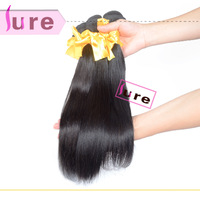 Queen hair products brazilian virgin striaght  hair mixed 4pcs lots  5A grade