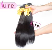 Queen hair products brazilian virgin striaght  hair mixed 4pcs lots  5A grade