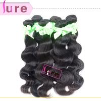 Peruvian virgin body wave 3 bundles 5a quality  mixed length  Free shipping