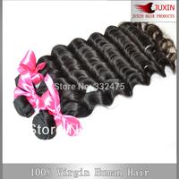 "Brazilian natural wave Hair Unprocessed human hair 6A quality 100g/pc cheap remy virgin hair free shipping 1PCS  8""-34''"