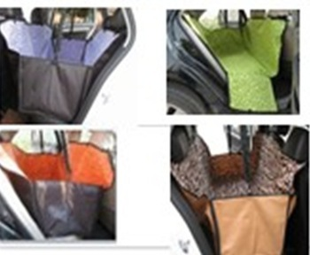 Free Shipping Pet Dog Car Rear Back Seat Carrier Cover Pet Dog Mat Blanket Hammock Cushion Protector 3 colors