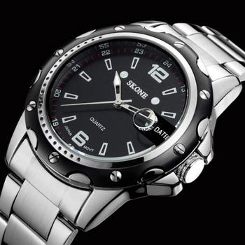 relogio masculino Luxury Brand Oirignal Quartz Wristwatches With Date Full Steel Business Casual Watches Men Watch