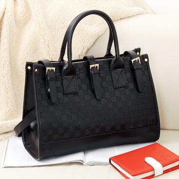 Europe Style Fashion Vintage Checkerboard women Handbag Satchel  women messenger bags  Shoulder Bags women totes