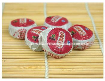 50 pcs 250g premium brand rose flavor old Mini Yunnan Puerh(Pu'erh,pu er)bowl cake ripe shu cha tuo tea,reduce weight loss