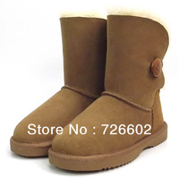 Free shipping Donna Feel 5803 classic women style 100% australia genuine sheepskin snow boots