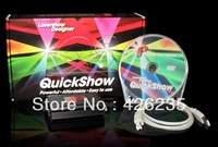 Professional Laser Software,Pangolin Quickshow  for Laser Light,software for christmas light and disco,outdoor light show