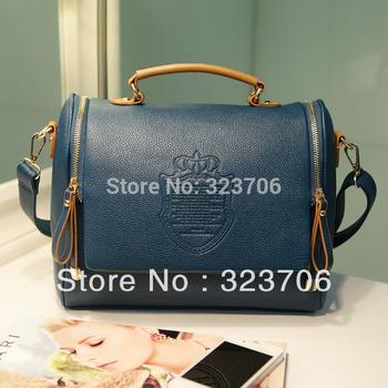 Quality BAG women leather handbags lady messenger bags fashion shoulder bag 8 colors