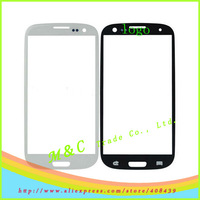 20pcs/lot White & Black For Samsung Galaxy S3 i9300 Touch Screen Outer Glass Lens Free Shipping