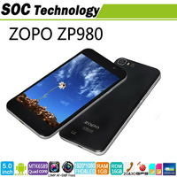 IN STOCK 5'' ZOPO ZP980 2G/32G MTK6589T 1.5GHz QUAD CORE phone Android 4.2 FHD LTPS 1920*1080 13MP camera 3G WCDMA
