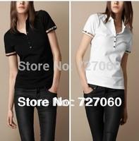 2013 Hot Free Shipping NEW design Brand 100% Cotton New Fashion Woman t shirt and women's Short Sleeve shirt
