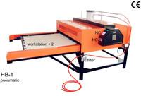 Heat Transfer/Press Machine, 1 Side Auto-sublimation Printer, L1000*W800mm, Print T-shirt, Fabric, Glass, Metal, Ceramic, Wood