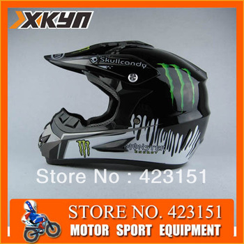 XKYN Free Shipping Freegift ABS  Motorcycle Helmet  OFF ROAD racing helmet  and wholesale motocross  helmet 5 colors