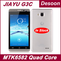 "Russian Warehouse Jiayu G3 G3S cell phones MTK6589T Quad Core G3T 1.5GHZ 4G ROM+1G RAM 4.5"" 8MP GorillaGlass Black Silver/Koccis"